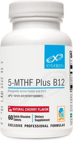 5-MTHF Plus B12 Cherry 60 Tablets