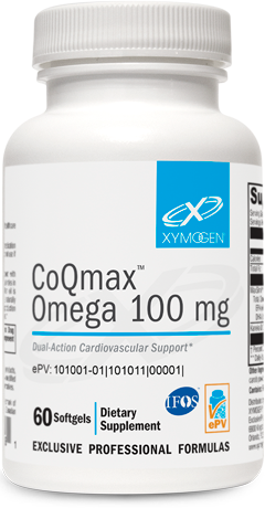 CoQmax™ Omega 100 mg 60 Softgels