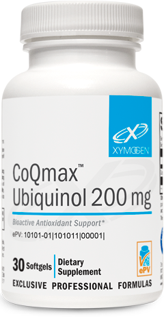 CoQmax™ Ubiquinol 200 mg 30 Softgels