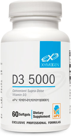 D3 5000 60 Softgels