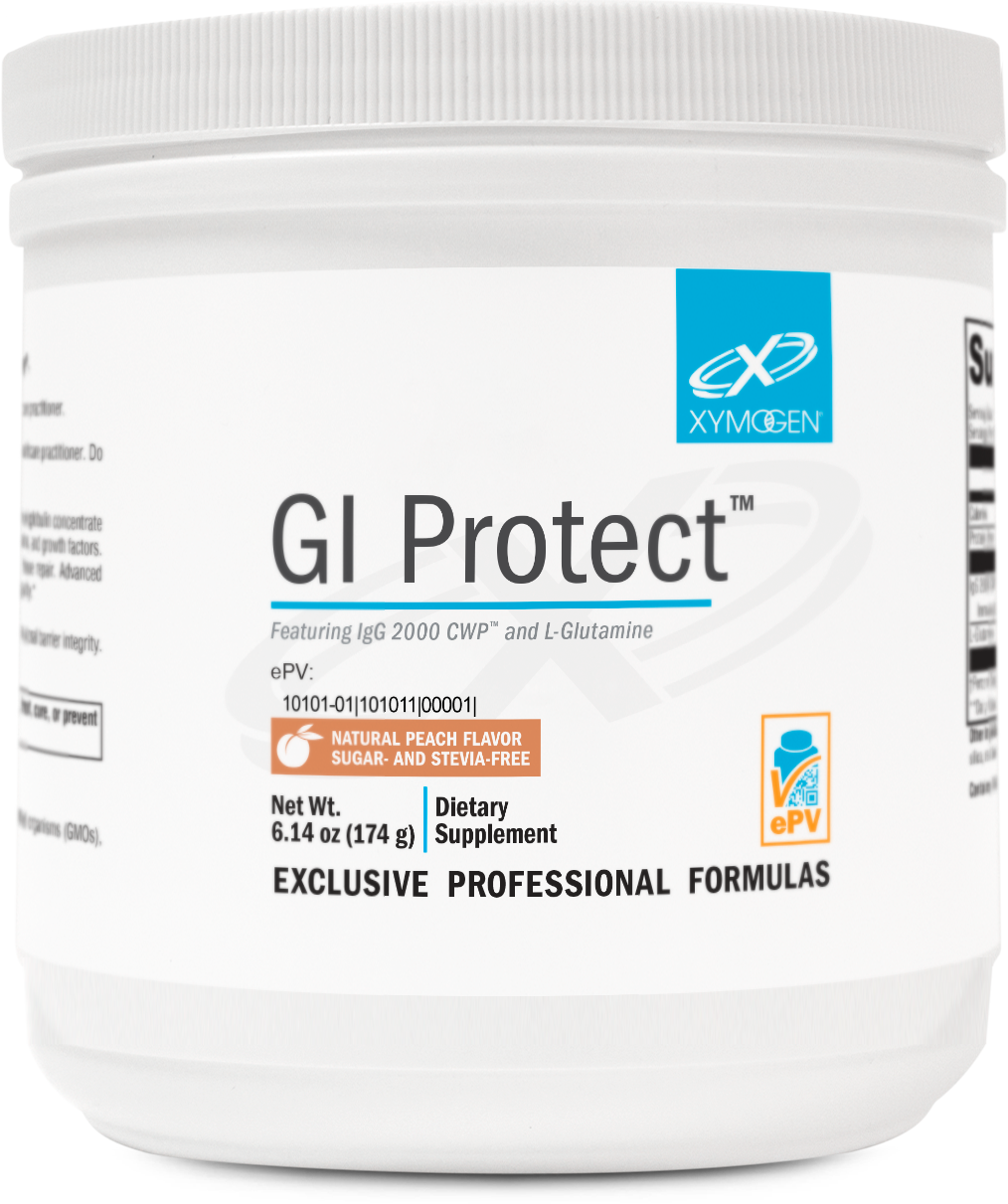 GI Protect™ Peach Sugar- & Stevia-Free 30 Servings