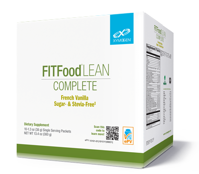 FIT Food® Lean Complete French Vanilla Sugar- & Stevia-Free 10 Servings
