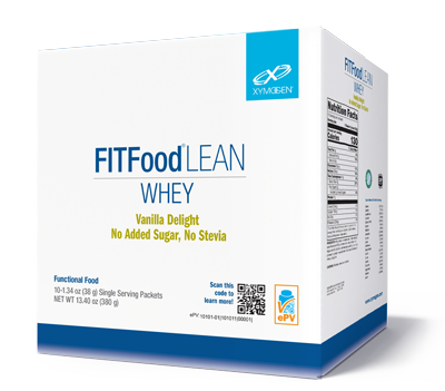 FIT Food™ Lean Whey Vanilla Delight No Added Sugar, No Stevia 10 Servings