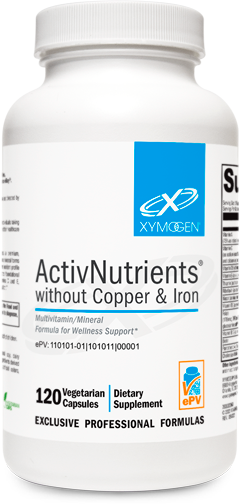 ActivNutrients® without Copper & Iron 120 Capsules
